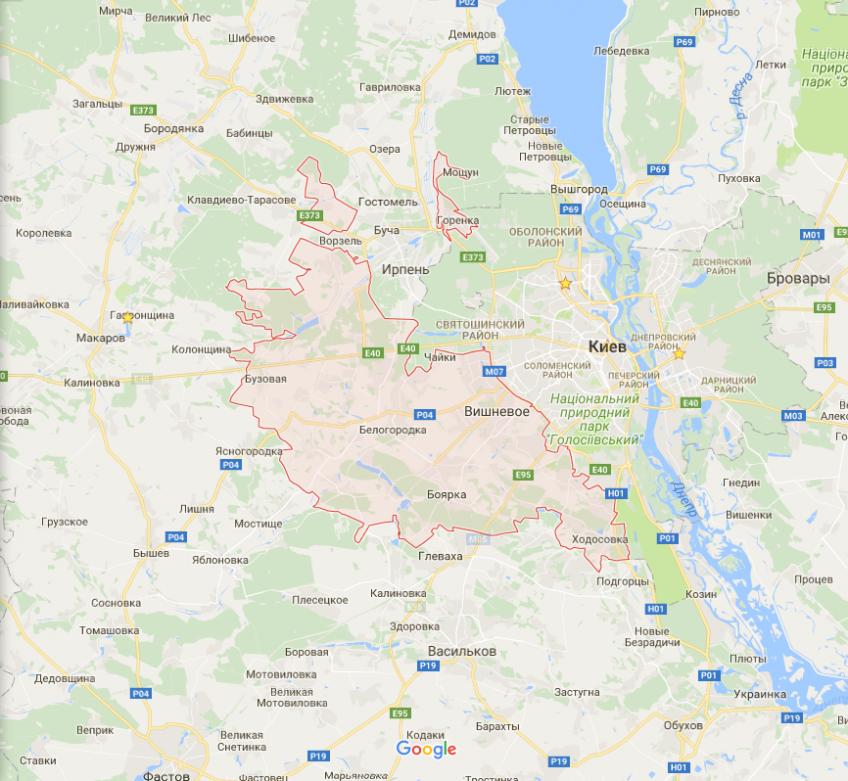 Доставка питної води в Святошинському районі міста Києва